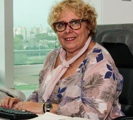 Nuestro equipo - Gladys Salzman   -   Gerente Administrativa