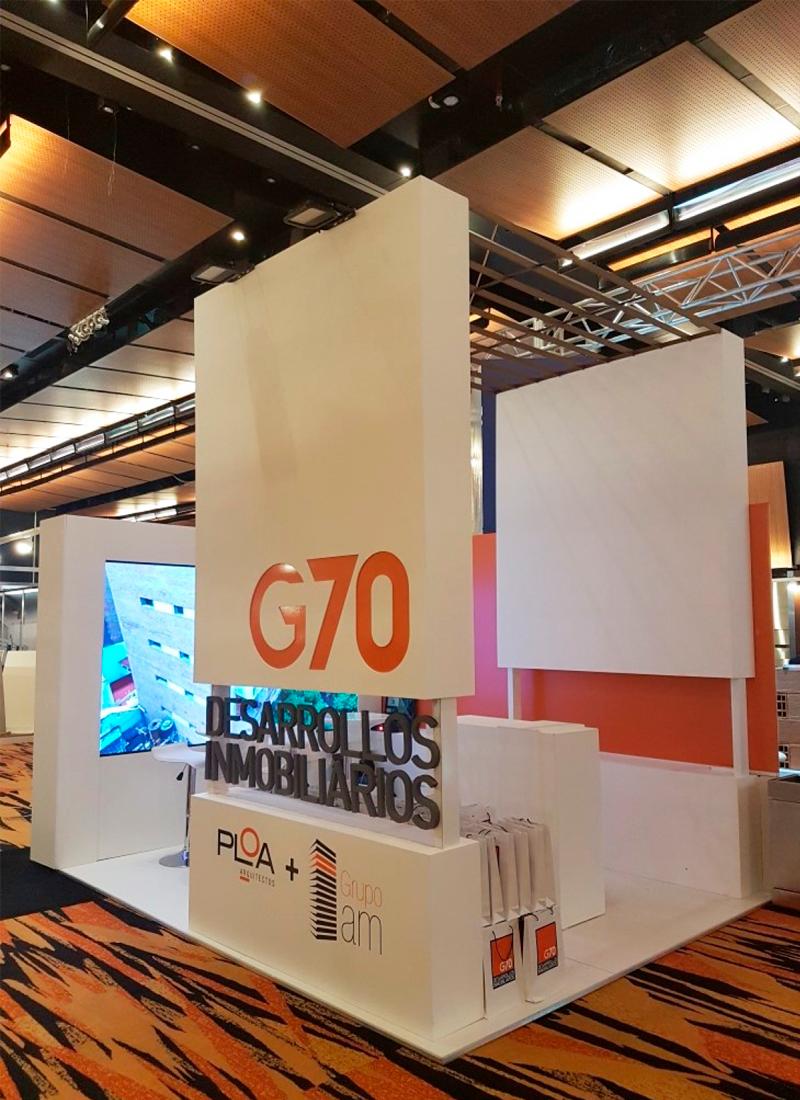 G70 participó de la expo construir 2018